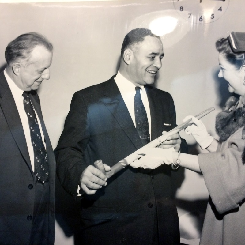 Clark Eichelberger and Ralph Bunche