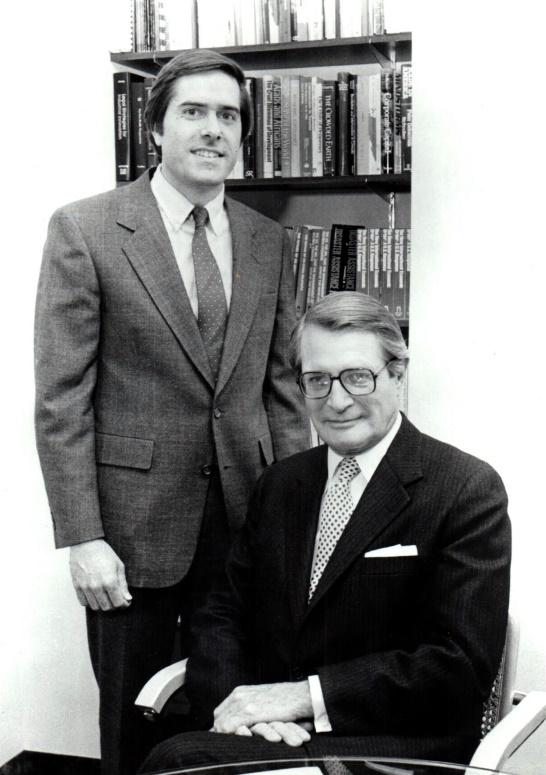 Edward Luck and Elliot Richardson