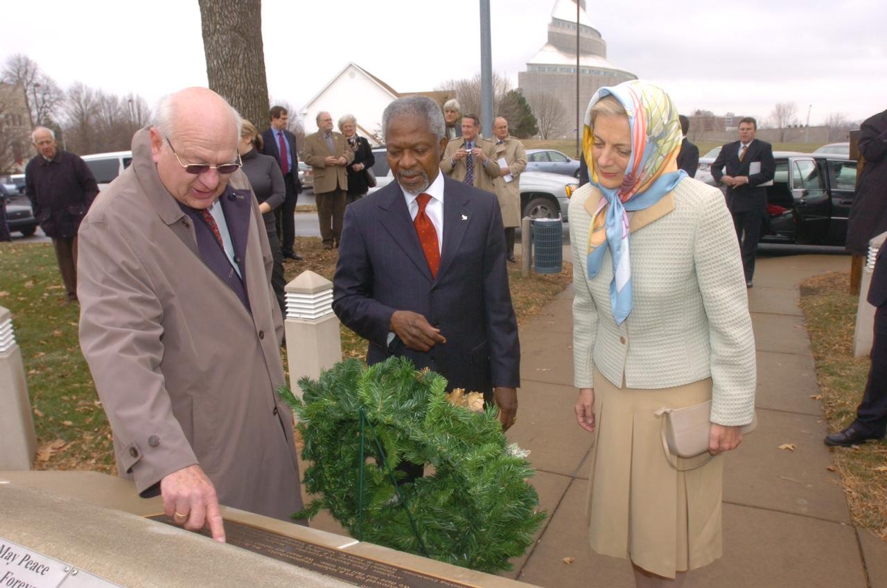 Kofi and Nane Annan