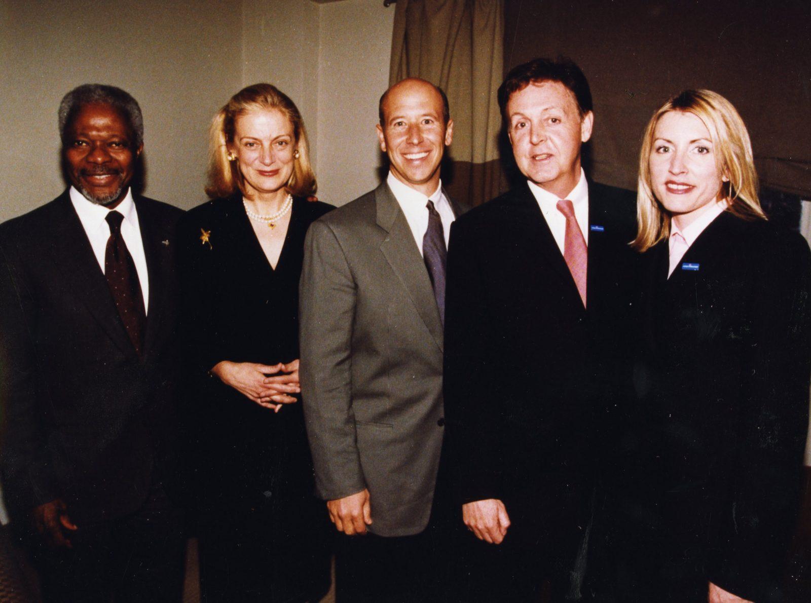 2001 UNA-USA Global Leadership Award Dinner