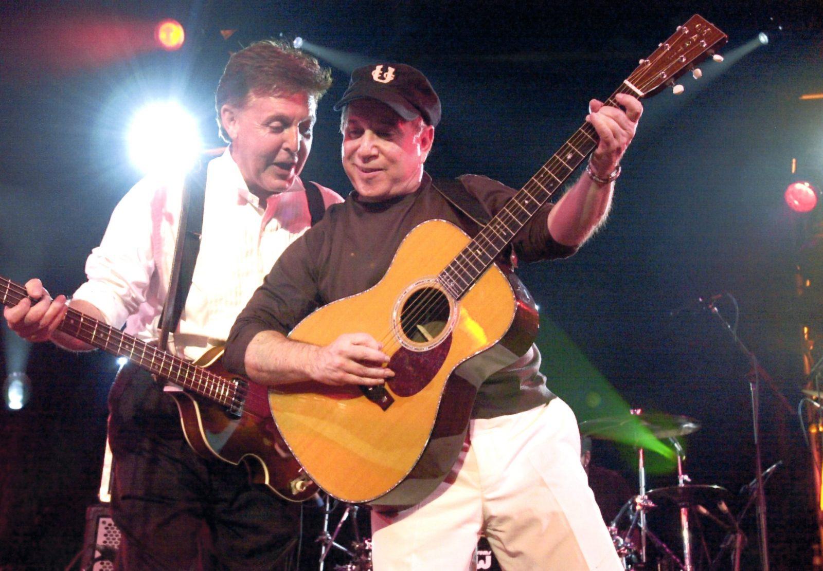 Paul McCartney and Paul Simon