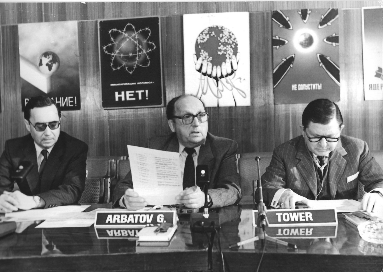 UNA Parallel Studies Arms Control Group, Moscow, December 1987