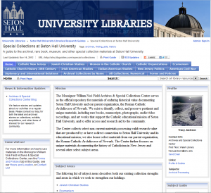 Special Collections LibGuide