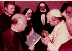 John M. Oesterreicher presents The Bridge IV to Pope Paul VI
