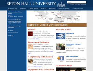 Institute of Judaeo-Christian Studies homepage