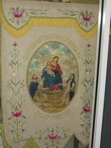 Altar Rosary Society Banner