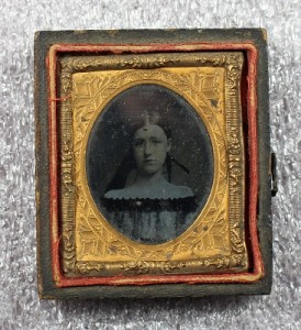 Ambrotype portrait of an unidentified girl, from the Archdiocese of Newark photographs