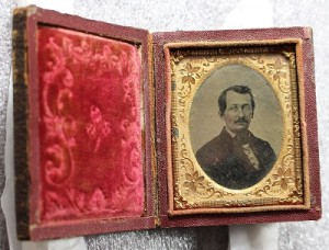 Ambrotype portrait of an unidentified man, from the Archdiocese of Newark photographs