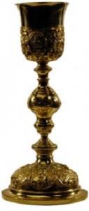 Silver gilt chalice ca. 1870