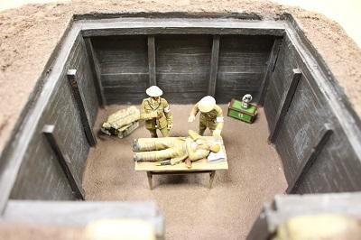 WWI diorama