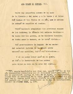 """""""Ana Roque de Duprey,"""" a poem by Trina Padilla de Sanz. Undated."""