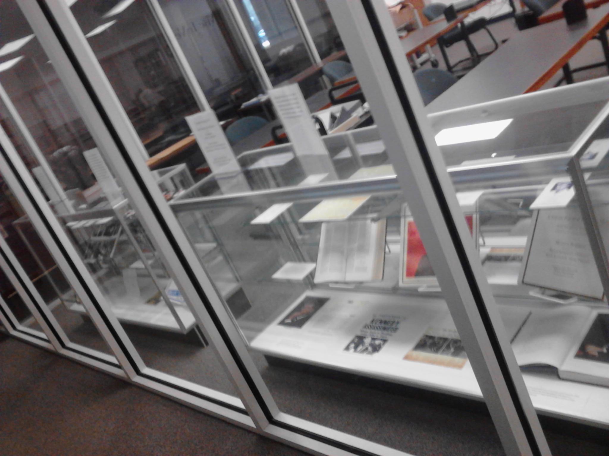 Exhibit on JFK in Archives Reading Room