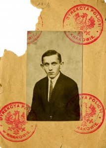 Passport photograph of Jacob I. Fass