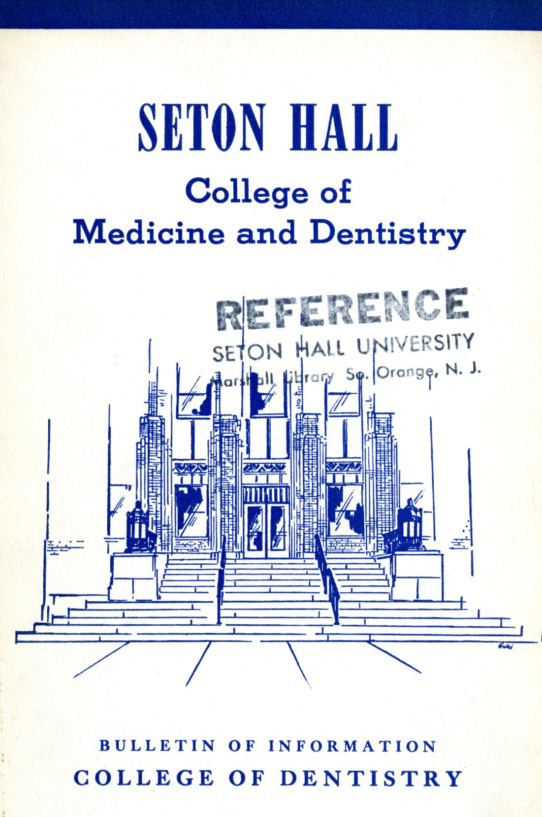 Seton Hall college of medicine and dentistry