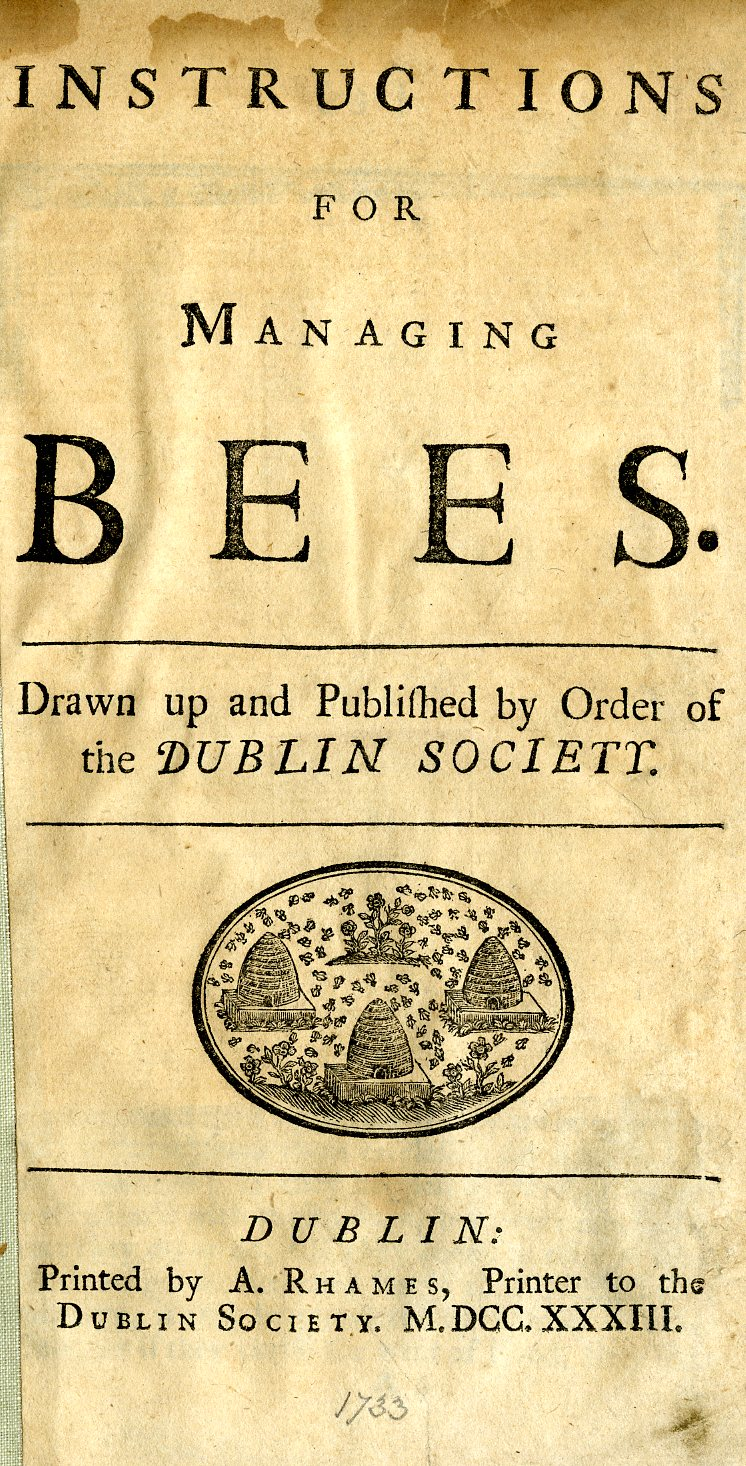 instructions for managing bees.