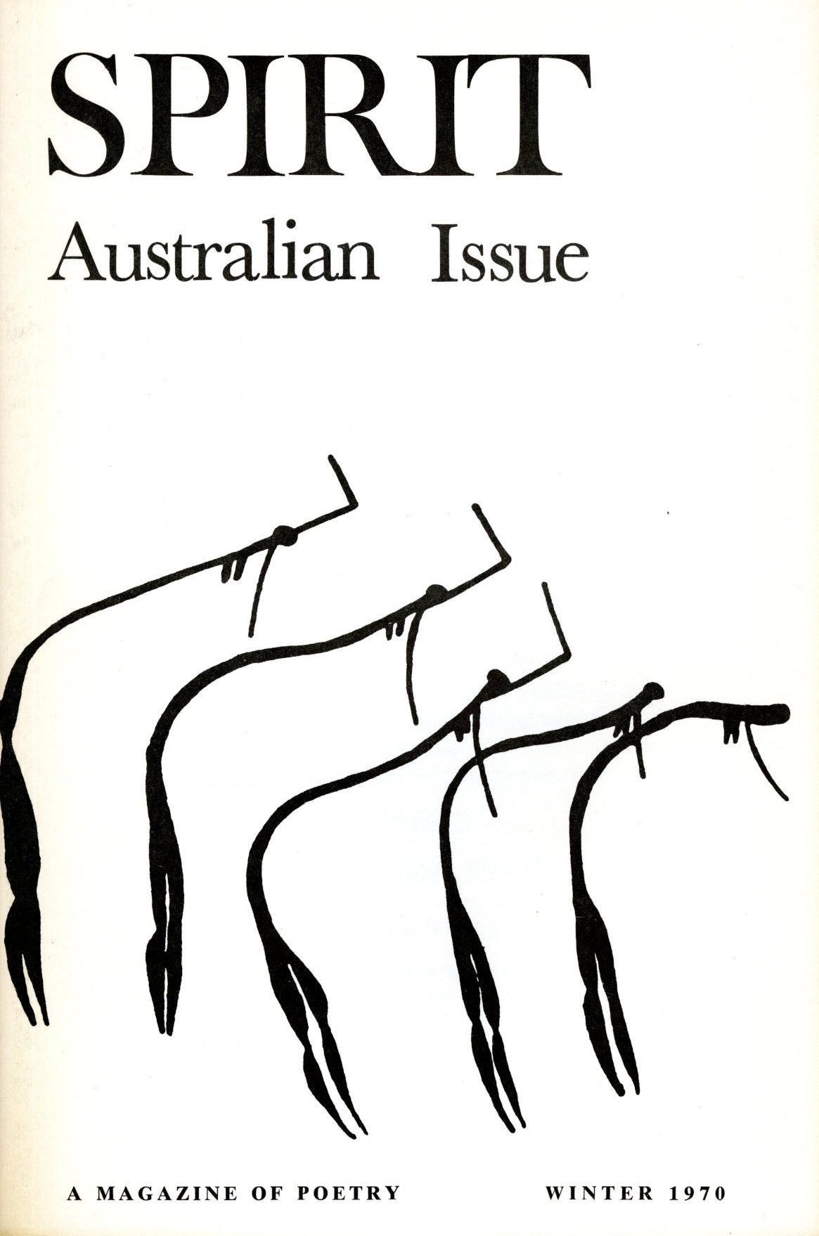 Spirit cover, Australian issue