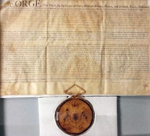 Proclamation by King George III.