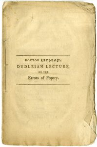 A discourse on the errors of popery