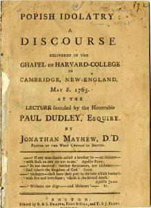 Popish Idolatry: A Discourse