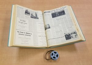 Printed and microfilm versions of the Catholic Advocate in Seton Hall University Special Collections