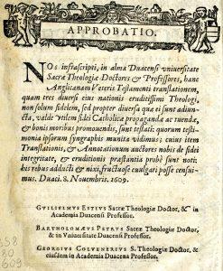 Douai-Rheims Bible – Revolutionary Catholic Text in Context