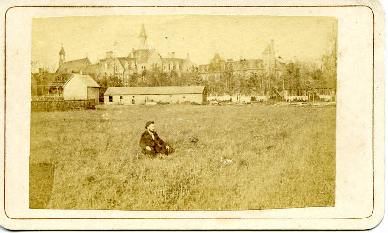 A view of Seton Hall College from 1875