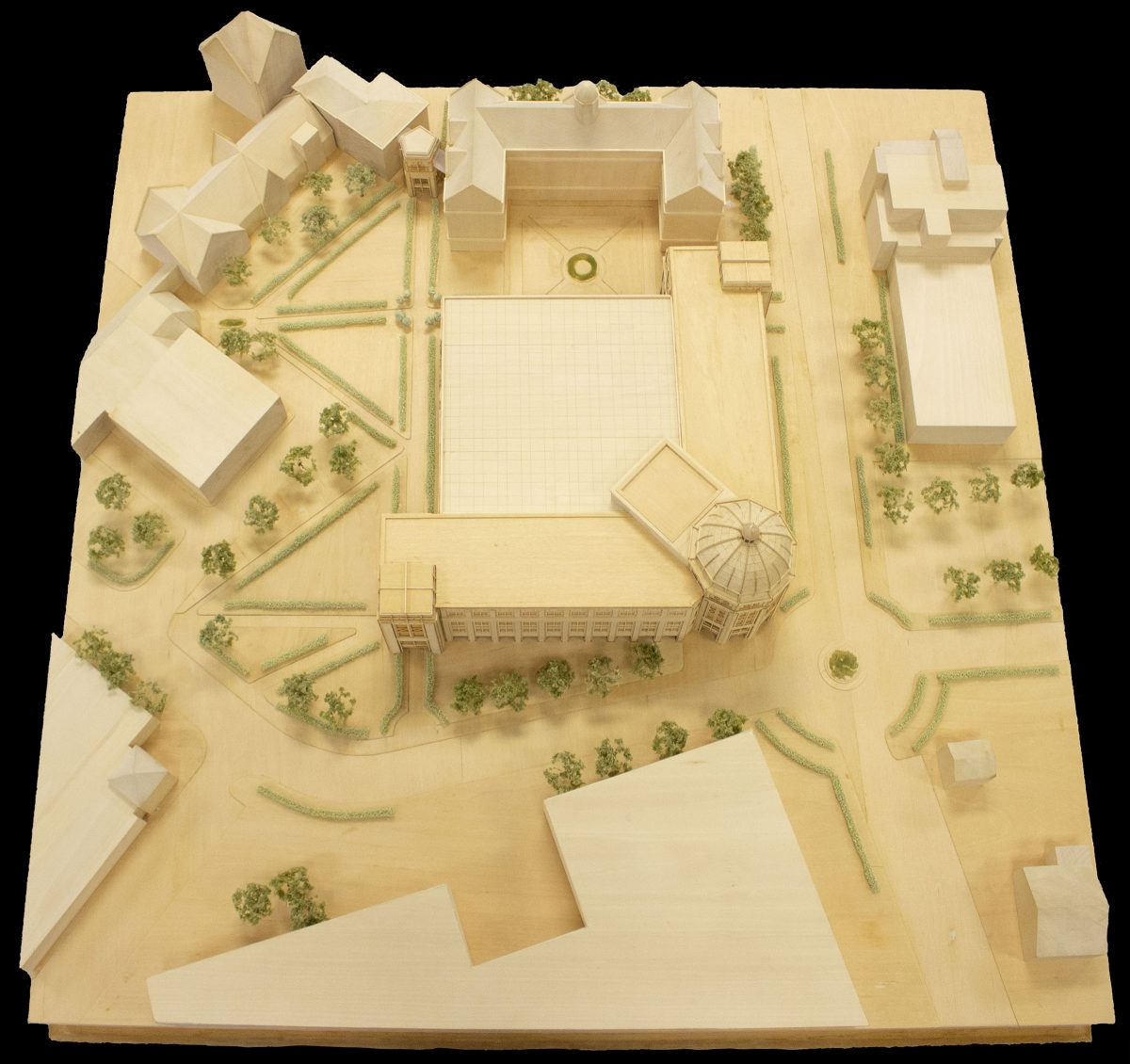 model of Walsh library