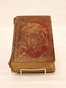 front cover of the Stuart Breviary
