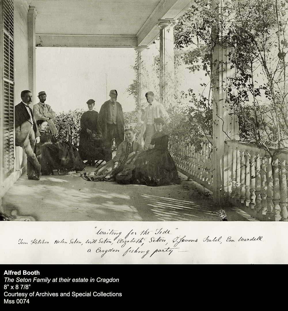Object of the Week: The Seton Family at their Estate in Cragdon