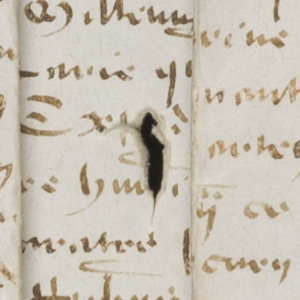 Hole in Parchment