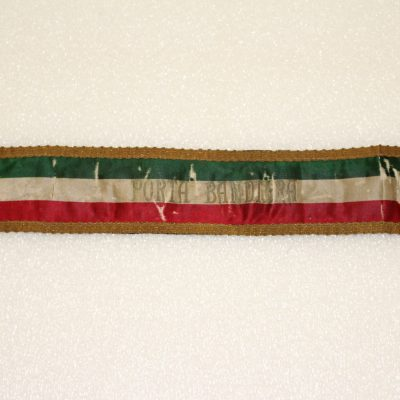 Image of a Flag Bearer Arm Band, Porta Bandera.