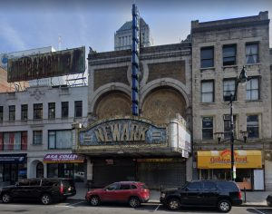 Image of the Paramount Theatre in Newark, NJ
