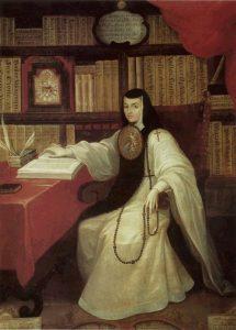 Portrait of Sister Juana Inés de la Cruz