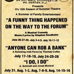 Newspaper Advertisement, circa 1979-1980.