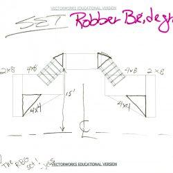 "Image of the ""Robber Bridegroom"" Vectorworks Drawing, undated."