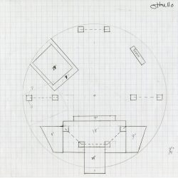 """Image of the """"Othello"""" Stage Drawing, 2004."""