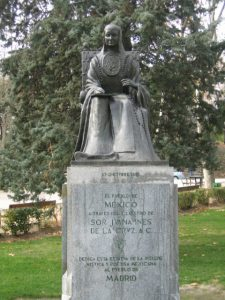 Sister Juana Ines de la Cruz's grave
