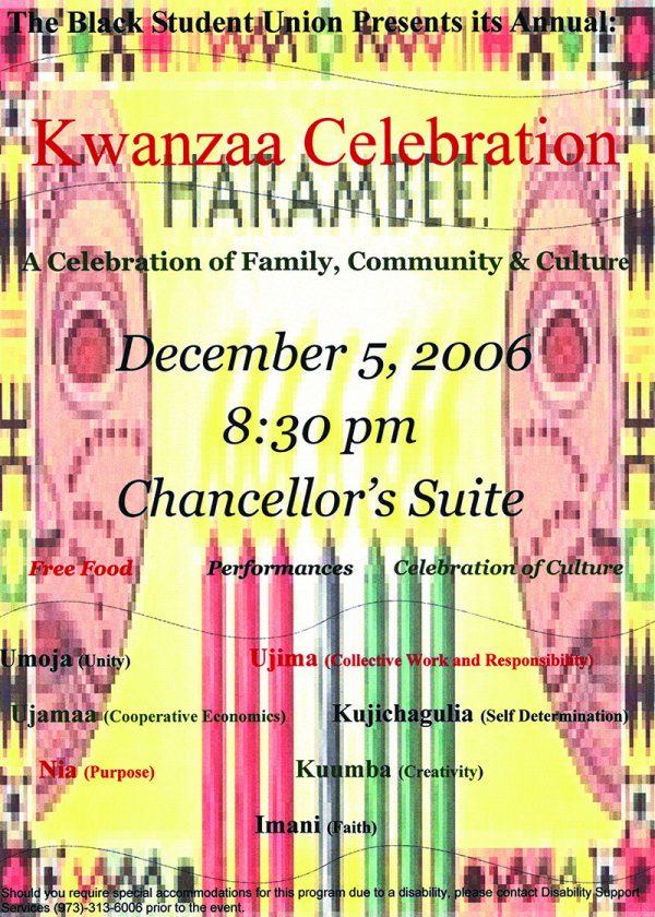 Object of the Week: Kwanzaa Celebration Invitation