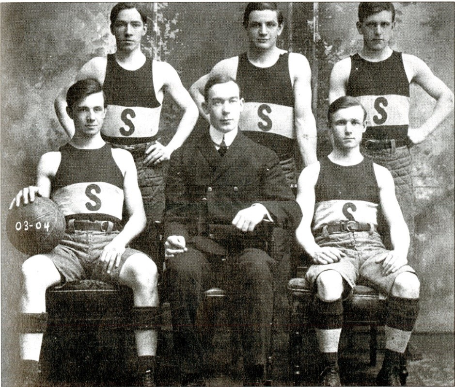 Object of the Week: Members of the 1903-1904 Inaugural Men's Basketball Team