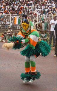 Guro dancer performing