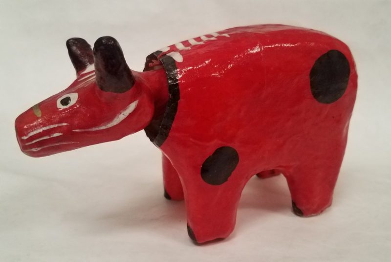 Object of the Week: Akabeko (Ox or Cow Toy)