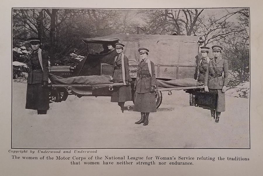"""Object of the Week: Image from """"Mobilizing Woman Power"""" by Harriot Stanton Blatch"""
