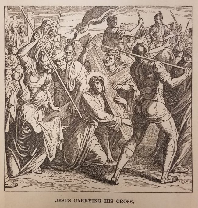 Image from: Josephine Pollard, The Bible and Its Story. New York: Ward and Drummond, 1889.