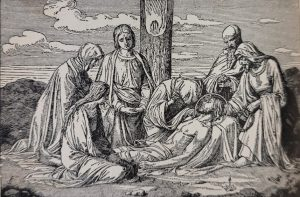 Image of the Burial of Jesus