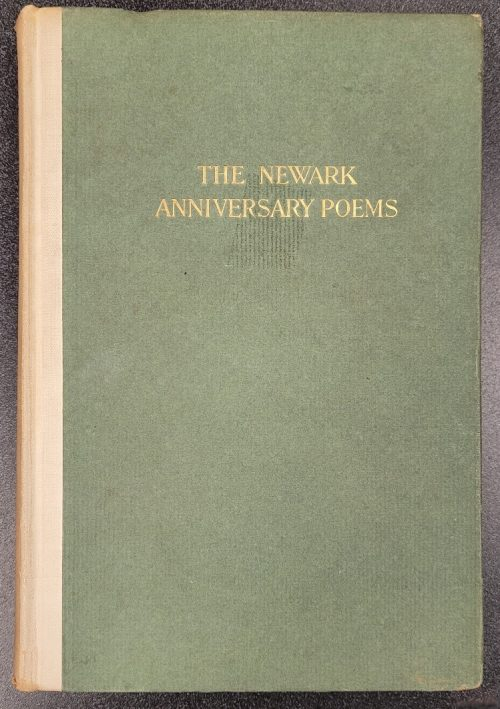 """Object of the Week: """"The Newark Anniversary Poems"""""""