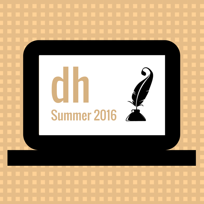 DH Summer 2016 events