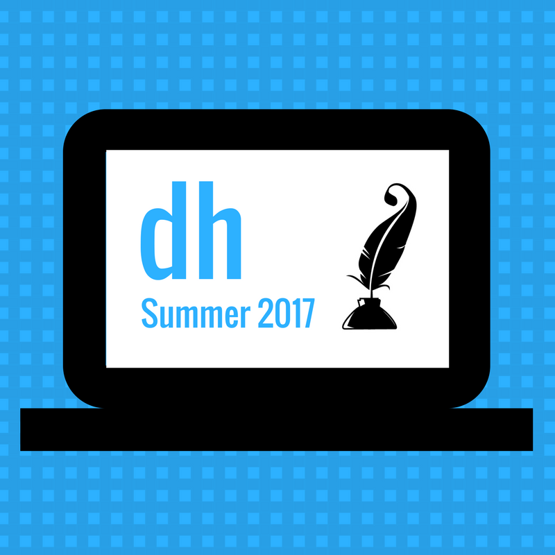 Digital Humanities Summer Seminar Schedule