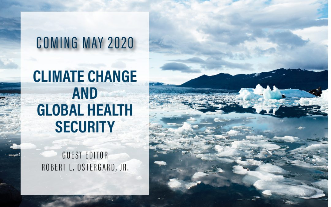 Special Issue Coming Soon: Climate Change and Global Health Security