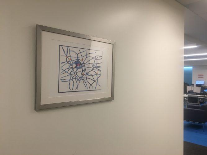 Neuron synapse art