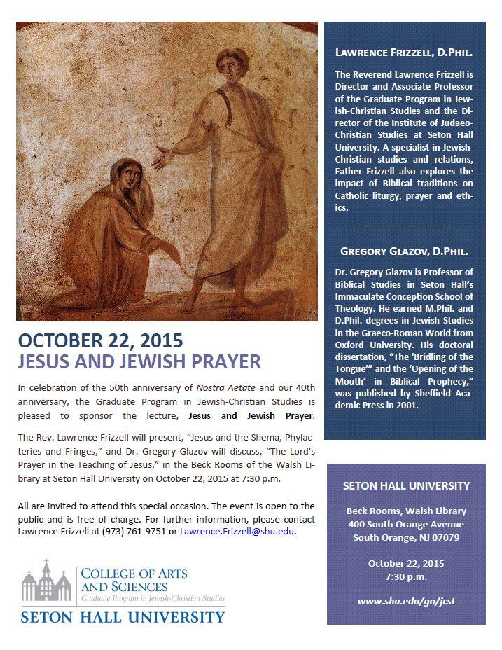 Jesus & Jewish Prayer 2